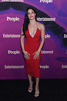 NEW YORK, NEW YORK - MAY 13: Jeanine Mason attends the People & Entertainment Weekly 2019 Upfronts at Union Park on May 13, 2019 in New York City. <br /> CAP/MPI/IS/JS<br /> ©JS/IS/MPI/Capital Pictures