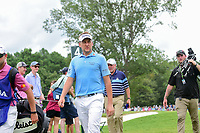 Ian Poulter (GBR) departs 4 for the 5th tee during Friday's round 2 of the PGA Championship at the Quail Hollow Club in Charlotte, North Carolina. 8/11/2017.<br /> Picture: Golffile | Ken Murray<br /> <br /> <br /> All photo usage must carry mandatory copyright credit (&copy; Golffile | Ken Murray)