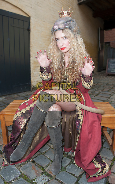 AYLESBURY, ENGLAND - Melanie Masson at the Dick Whittington Panto launch at the Waterside Theatre on September 21st 2015 in Aylesbury, England<br /> CAP/PP/GM<br /> &copy;Gary Mitchell/PP/Capital Pictures
