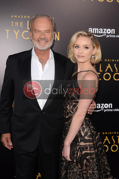 """Kelsey Grammer, Greer Grammer<br /> at """"The Last Tycoon"""" Red Carpet Premiere Screening, Harmony Gold Theater, Los Angeles, CA 07-27-17<br /> David Edwards/DailyCeleb.com 818-249-4998"""