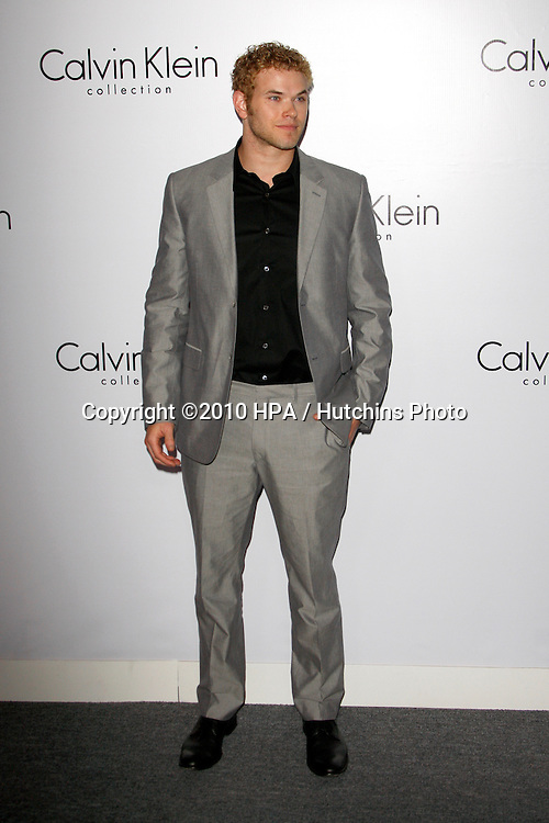 Kellan Lutz.arriving at the Calvin Klein collection and LOS ANGELES NOMADIC DIVISION Present a Celebration of L.A. ARTS MONTH.Calvin Klein Store.Los Angeles, CA.January 28, 2010.©2010 HPA / Hutchins Photo....