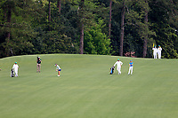 Haylee Harford (USA) and Caterina Don (ITA) during the final  round at the Augusta National Womans Amateur 2019, Augusta National, Augusta, Georgia, USA. 06/04/2019.<br /> Picture Fran Caffrey / Golffile.ie<br /> <br /> All photo usage must carry mandatory copyright credit (© Golffile | Fran Caffrey)