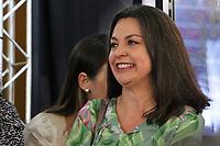 SÃO PAULO, SP, 25.07.2019 - POLITICA-SP - Aline Cardoso, Secretária Municipal de Desenvolvimento Econômico e Trabalho de São Paulo, participa da inauguração do novo prédio da Junta Comercial do Estado de São Paulo (Jucesp), nesta quinta-feira, 25. ( Foto Charles Sholl/Brazil Photo Press/Folhapres)