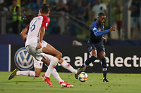 Oliver Ntcham of Franceaz\<br /> Serravalle 21-06-2019 Stadio San Marino Stadium <br /> Football UEFA Under 21 Championship Italy 2019<br /> Group Stage - Final Tournament Group C<br /> France - Croatia<br /> Photo Cesare Purini / Insidefoto
