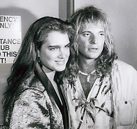 Brook Shields and David Lee Roth 1979<br /> Photo By John Barrett-PHOTOlink.net