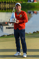 Francesco Molinari (ITA) holds the trophy for winning the Arnold Palmer Invitational at Bay Hill Golf Club, Bay Hill, Florida. 3/10/2019.<br /> Picture: Golffile | Ken Murray<br /> <br /> <br /> All photo usage must carry mandatory copyright credit (© Golffile | Ken Murray)