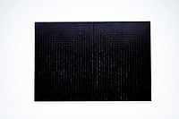 Illustration Ambiance / Franck Stella - Le Mariage de la Raison et de la Misere<br /> Parigi 16-10-2017 MoMa <br /> Esposizione Arte moderna <br /> Foto JB Autissier / Panoramic / Insidefoto