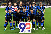 Inter team photo line up <br /> Milano 6-10-2019 Stadio Giuseppe Meazza <br /> Football Serie A 2019/2020 <br /> FC Internazionale - Juventus FC <br /> Photo Andrea Staccioli / Insidefoto