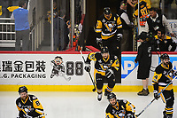 May 29, 2017: Pittsburgh Penguins center Sidney Crosby (87) takes the ice for warm up before game one of the National Hockey League Stanley Cup Finals between the Nashville Predators  and the Pittsburgh Penguins, held at PPG Paints Arena, in Pittsburgh, PA. Pittsburgh defeats Nashville 5-3 in regulation time.  Eric Canha/CSM
