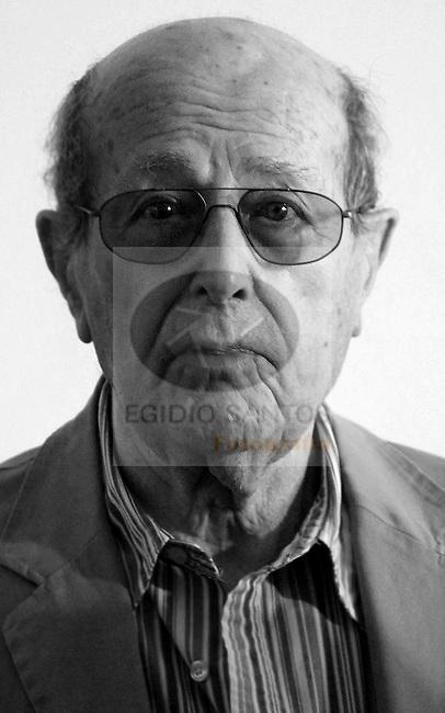 Manoel de Oliveira, movie director, at Museu de Serralves, 10 September 2008.