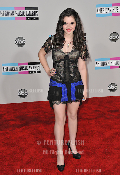 Vanessa Marano at the 2011 American Music Awards at the Nokia Theatre L.A. Live in downtown Los Angeles..November 20, 2011  Los Angeles, CA.Picture: Paul Smith / Featureflash