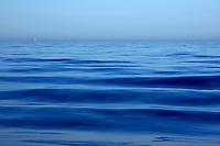 Rippled waters of the Mediterranean Sea.