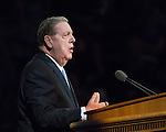 1608-44 395<br /> <br /> Education Week<br /> Elder Holland Devotional<br /> <br /> August 16, 2016<br /> <br /> Photography by: Mark A. Philbrick/BYU Photo<br /> <br /> Copyright BYU Photo 2016<br /> All Rights Reserved<br /> photo@byu.edu (801)422-7322<br /> <br /> 729