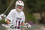 Los Angeles, CA 04/02/10 - Henry Harries (LMU #11) in action during the UCSB-LMU MCLA SLC conference lacrosse game at Loyola Marymount University.