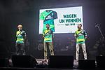 07.02.2019, Alte Werft, Bremen, GER, 1.FBL, 120 Jahre SV Werder Bremen - 120 Jahre Lauter - das Konzert<br /> <br /> im Bild<br /> Claudio Pizarro (Werder Bremen #04) präsentiert das 120-Jahre Jubiläums-Trikot, <br /> <br /> Der Fussballverein SV Werder Bremen feiert sein 120-jähriges Bestehen. In der Alten Werft Bremen findet anläßlich des Jubiläums ein Konzert für Fans statt. <br /> <br /> Foto © nordphoto / Ewert