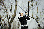 JEJU, SOUTH KOREA - APRIL 23:  Alexander Noren of Sweden tees off on the 12th hole during the fog-delayed Round One of the Ballantine's Championship at Pinx Golf Club on April 23, 2010 in Jeju island, South Korea.  Photo by Victor Fraile / The Power of Sport Images