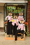 Madison Chamber of Commerce, CT. scarecrow contest.