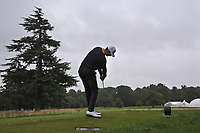 Sebastian Heisele (GER) on the 9th tee during Round 2 of the Bridgestone Challenge 2017 at the Luton Hoo Hotel Golf &amp; Spa, Luton, Bedfordshire, England. 08/09/2017<br /> Picture: Golffile | Thos Caffrey<br /> <br /> <br /> All photo usage must carry mandatory copyright credit     (&copy; Golffile | Thos Caffrey)