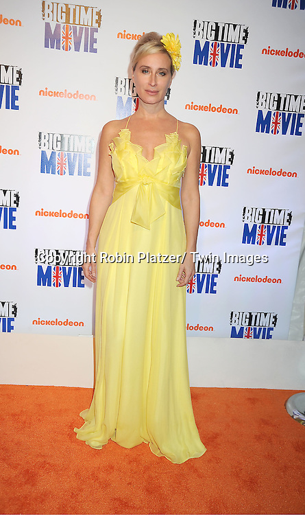 "Sonja Morgan in Phoebe Couture  and daughter Q attends The movie premiere of "" Big Time Movie"" starring ..Big Time Rush of Nickelodeon on March 8, 2012 at 583 Park Avenue in New York City."