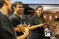 MACEIÓ, ALAGOAS, 18.06.2016 - GAMES-AL - Encontro e lançamento do mais recente livro do selo Warcraft – Por Trás do Portal Negro, na livraria Leitura (Parque Shopping Maceió), parte baixa da cidade, nesta tarde de sábado, 18. os blogueiros realizaram quiz, dinâmicas, atividades, dicas de especialistas para iniciantes e rodas de conversas sobre o jogo World of Warcraft. (Foto: Alisson Frazão/Brazil Photo Press)