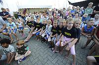 ZEILEN: WARTEN: 27-08-2016, Huldiging Marit Bouwmeester, de zeiltalenten voor de toekomst, ©foto Martin de Jong