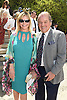 Judy and Rod Gilbert attend the Central Park Conservancy Hat Luncheon on May 2, 2018 in the Conservatory Garden in New York, New York, USA.<br /> <br /> photo by Robin Platzer/Twin Images<br />  <br /> phone number 212-935-0770