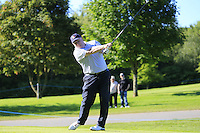 Paul Lawrie (SCO) team during Wednesday's Pro-Am of the 2014 Irish Open held at Fota Island Resort, Cork, Ireland. 18th June 2014.<br /> Picture: Eoin Clarke www.golffile.ie