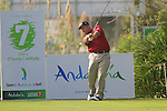 John Bickerton (ENG) tees off on the 7th tee during Day 1 Thursday of the Open de Andalucia de Golf at Parador Golf Club Malaga 24th March 2011. (Photo Eoin Clarke/Golffile 2011)