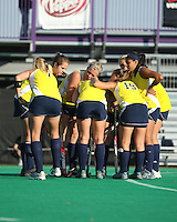 Thursday, November 7th, 2010. Michigan Field Hockey Team defeats the Ohio State University in the Championship game of the 2010 Big Ten Field Hockey Tournament @ Northwestern University, Evanston, IL