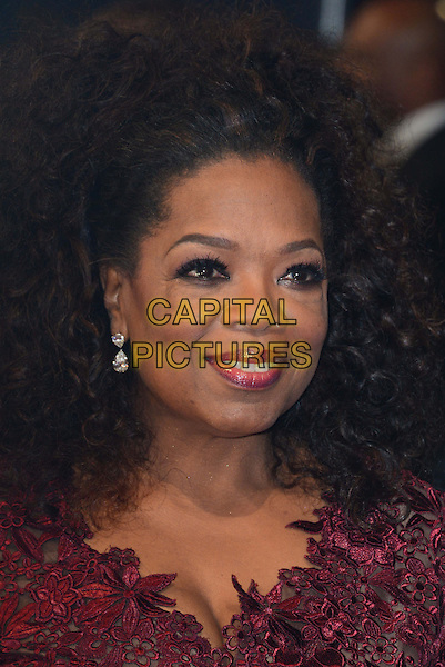 LONDON, ENGLAND - FEBRUARY 16:  Oprah Winfrey attends EE British Academy Film Awards (BAFTAs) at Royal Opera House, Covent Garden, on February 16, 2014, in London, England.  <br /> CAP/JOR<br /> &copy;Nils Jorgensen/Capital Pictures