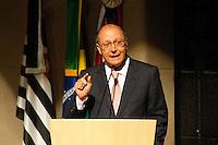 SÃO PAULO,SP, 05.10.2015 - ALCKMIN-SP - O governador de São Paulo, Geraldo Alckmin, participa da divulgação dos dados do ìndice de Efetividade da Gestão municipal, referente ao ano de 2014 pelo Tribunal de contas do Estado de São Paulo (TCESP). No Centro de Convenções Rebouças, nessa segunda-feira 05. (Foto: Gabriel Soares/Brazil Photo Press)
