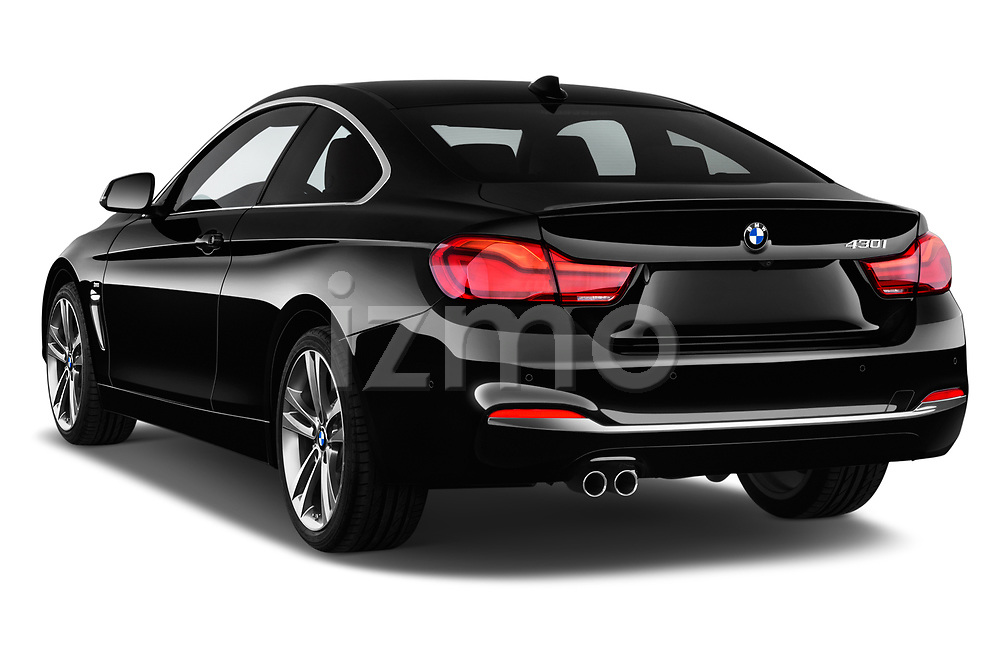 Car pictures of rear three quarter view of a 2020 BMW 4 Series 430i Coupe 2 Door Coupe angular rear