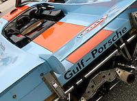 Porsche on display at the Rennsport Reunion, Daytona INternational Speedway, Daytona Beach, FL, November 2007.  (Photo by Brian Cleary/www.bcpix.com)
