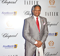 Richard Taylor at the Lux Afrique gala dinner, Claridge's Hotel, Brook Street, London, England, UK, on Sunday 01 October 2017.<br /> CAP/CAN<br /> &copy;CAN/Capital Pictures