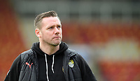 Notts County manager Kevin Nolan prior to the game<br /> <br /> Photographer Chris Vaughan/CameraSport<br /> <br /> The EFL Sky Bet League Two - Lincoln City v Notts County - Saturday 13th January 2018 - Sincil Bank - Lincoln<br /> <br /> World Copyright &copy; 2018 CameraSport. All rights reserved. 43 Linden Ave. Countesthorpe. Leicester. England. LE8 5PG - Tel: +44 (0) 116 277 4147 - admin@camerasport.com - www.camerasport.com