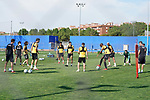 Getafe's team during training session. May 25,2020.(ALTERPHOTOS/Acero)