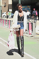NEW YORK, NY - AUGUST 30: Amilna Estevao attends fittings for the Victoria's Secret 2017 Fashion Show on August 30, 2017 in New York City. Credit: DC/Media Punch