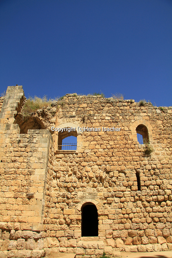 Israel, Jerusalem Mountains, the Crusader Farmhouse in Aqua Bella, Ein Hemed National Park