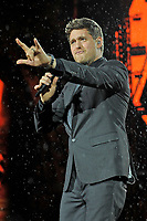 JUL 13 Michael Buble performing at British Summer Time 2018