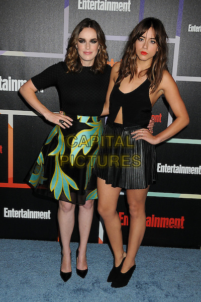 26 July 2014 - San Diego, California - Elizabeth Henstridge, Chloe Bennet. Entertainment Weekly's Annual Comic-Con Celebration 2014 held at Float Lounge at the Hard Rock Hotel.  <br /> CAP/ADM/BP<br /> &copy;Byron Purvis/AdMedia/Capital Pictures