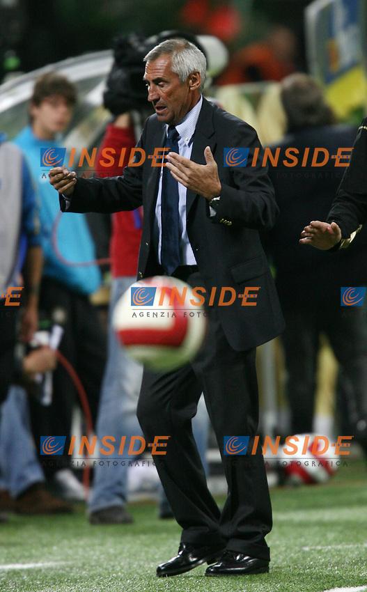 Milano 6/10/2007 Stadio GIuseppe Meazza, Campionato Italiano Serie A <br /> Inter Napoli 2-1<br /> Edoardo Reja allenatore del Napoli<br /> Napoli trainer Edoardo Reja<br /> Foto Andrea Staccioli Insidefoto