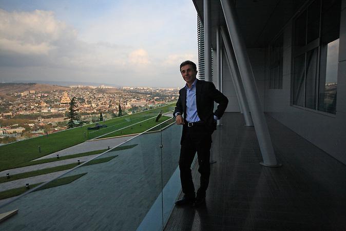 Der georgischer Oligarch und Politiker Bidsina Iwanischwili in seiner Residenz bei Tiflis / Georgian oligarch and politician Bidzina Ivanishvili in his villa near Tbilisi