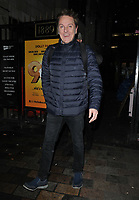 Brian Conley at the &quot;9 To 5 The Musical&quot; theatre cast stage door departures after the evening performance, Savoy Theatre, The Strand, London, England, UK, on Tuesday 05th February 2019.<br /> CAP/CAN<br /> &copy;CAN/Capital Pictures