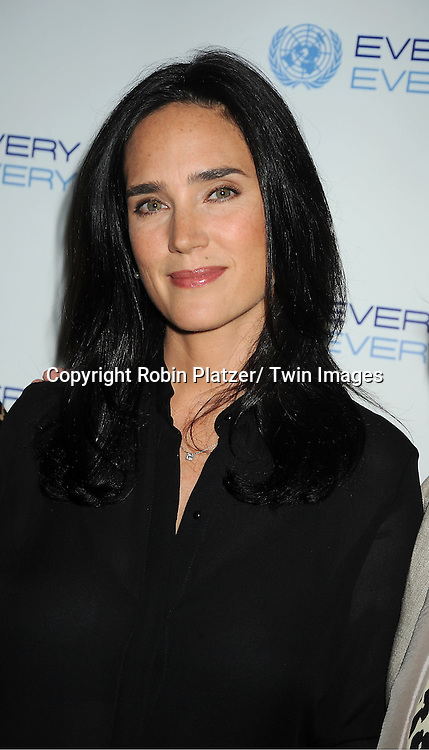 Jennifer Connelly attends the Every Woman, Every Child MDG Reception on September 20, 2011 at The Grand Hyatt Hotel in New York City.