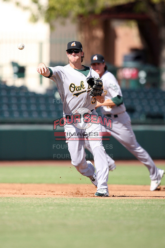 Stephen Parker - Phoenix Desert Dogs - 2010 Arizona Fall League.Photo by:  Bill Mitchell/Four Seam Images..