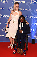 Ade Adepitan<br /> celebrating the inspirational winners in this year's 25th Birthday National Lottery Awards, the search for the UK's favourite National Lottery-funded projects. The glittering National Lottery Awards show, hosted by Ore Oduba, is on BBC One at 11pm on Tuesday 19th November.<br /> <br /> ©Ash Knotek  D3527 15/10/2019