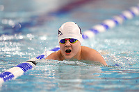 Picture by Richard Blaxall/SWpix.com - 14/04/2018 - Swimming - EFDS National Junior Para Swimming Champs - The Quays, Southampton, England - William Whitehead during the Men's Open 100m Breaststroke