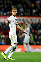 Liam Cooper of Leeds United during the Sky Bet Championship match between Brentford and Leeds United at Griffin Park, London, England on 4 November 2017. Photo by Carlton Myrie.