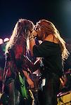 Sebastian Bach & Dave Sabo of Skid Row 1989