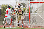 Palos Verdes, CA 05/07/11 - Michael Schladen (Palos Verdes #19) and Shane Bracken (Oak Park #21) in action during the CIF Southern Section North Division Semifinal game between Oak Park and Palos Verdes.